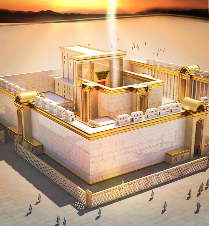 photo du troisième temple de jerusalem